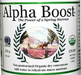 Alpha Boost Juice for Iron Gait Percherons