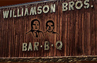 Williamson Bros Bar-B-Q for Iron Gait Percherons